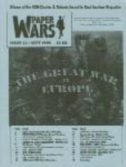 "#22 ""The Great War in Europe, Red Star/White Eagle"""