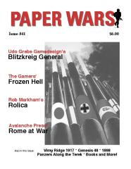"#41 ""Blitzkrieg General, Frozen Hell, Rolica, Rome at War"""