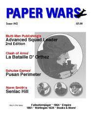 """#42 """"ASL 2nd Edition, La Bataille d' Orthez, Pusan Perimeter"""""""