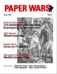 """#45 """"Brandywine/Germantown, Wilderness War, Drive on Frankfurt"""""""