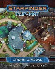 Flip-Mat - Starfinder - Urban Sprawl