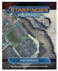 Flip-Mat - Starfinder - Asteroid