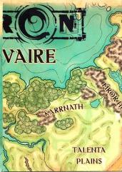 Eberron Poster Map