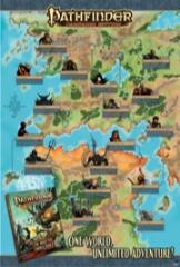 Inner Sea World Guide Promo Poster - One World Unlimited Adventure