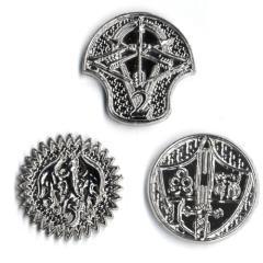 GM Campaign Coins - Platinum (1, 2, 5)