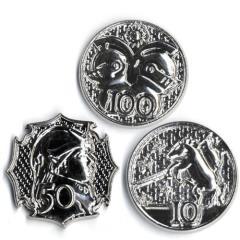 GM Campaign Coins - Platinum (10, 50, 100)
