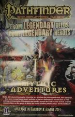Mythic Adventures Advertisement Poster