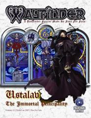 """#13 """"Ustalav, Afflicted Witch Archetype, Geist Warden Witch Archetype"""""""