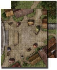 Flip-Mat - Town Square (1st Edition)