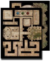 Flip-Mat - Ancient Dungeon