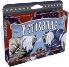 Yetisburg: Titanic Battles in History, Vol. 1 board game