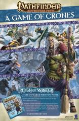 Reign of Winter Promo Poster - Game of Crones