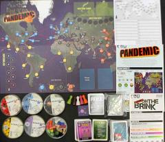 Pandemic 1st Edition 2-Pack - Base Game + On the Brink Expansion!