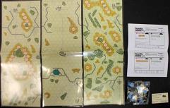 PanzerBlitz Expansion Collection - Scenarios, Maps & Counters!