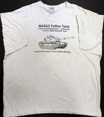 M60A3 Patton Tank T-Shirt (XXL)