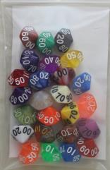 Assorted Pack - d100 (25)