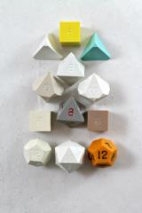 Ugly Dice Full Poly Set (12) (Plain)