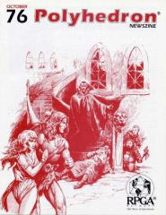 "#76 ""The Valley of Death - AD&D Adventure, Horror in Your Super Heroes Campaign"""
