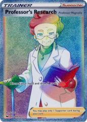 Professor's Research (Secret) (Secret R) #209/202 (Holo)