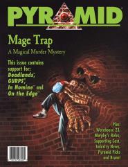 """#26 """"GURPS Fantasy Adventure - Mage Trap, Deadlands"""""""