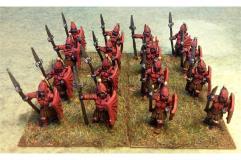 Spearmen with Shields (Half-Pack)