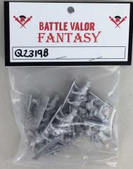 Barbarian Cavalry w/Spears & Shields on Saber Tooths (Half Pack)