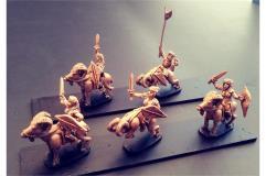 Wovian Cavalry w/Swords and Shields on Rams