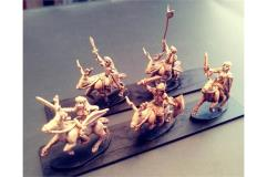 Wovian Cavalry w/Swords and Shields on Stags