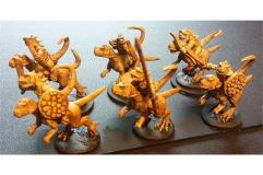 Cavalry w/Bow on Unarmored Chameliex