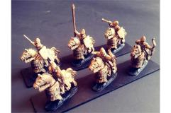 Elvian Cavalry w/Bows on Lightly Armored Horses (Half-Pack)