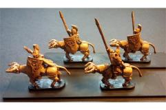 Legian Cavalry w/Spears & Shields on Heavily Armored Bulls