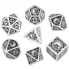 Clockwork Poly Set White w/Black (7)