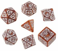 Clockwork Poly Set Caramel w/White (7)