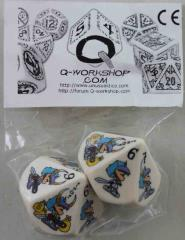 Wicked Munchkin Dice (Color Edition) (2)