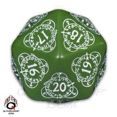 D20 Green w/White