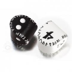 d2 Black w/White & d4 White w/Black (2)