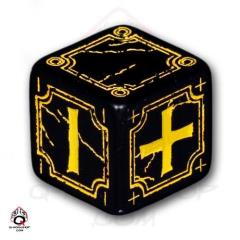 D6 Black w/Yellow (4)