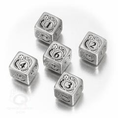 D6 Metal w/Black Set (5)