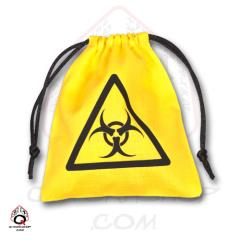 Biohazard Dice Bag - Yellow