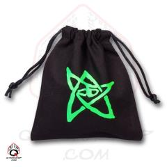 Call of Cthulhu Dice Bag - Black