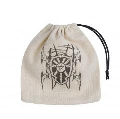 Vampire Basic Dice Bag Beige w/Black