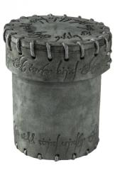 Elvish Suede Dice Cup - Graphite
