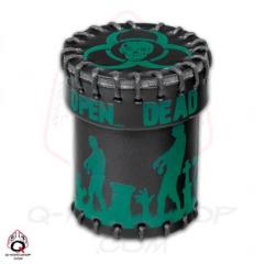Zombie Leather Dice Cup - Green