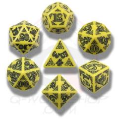 Poly Set Yellow w/Black (7)
