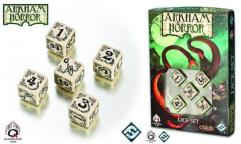 Arkham Horror Dice Set - Beige w/Black (5)