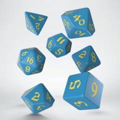 Poly Set Blue w/Yellow (7)