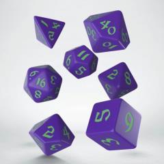 Poly Set Purple w/Green (7)