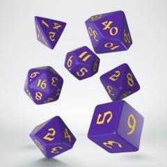 Poly Set Purple w/Yellow (7)