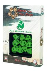 d10 Mantis Clan Dice Set (10)