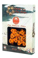 d10 Phoenix Clan Dice Set (10)